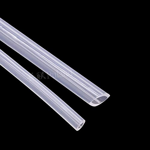 1-10 metros de tubo de bomba peristáltica de grado alimenticio, tubo de silicona, tubo de manguera, diámetro interior de 0,8-7,9 mm, transparente, 1 metro, 7,9 mm x 11,1 mm