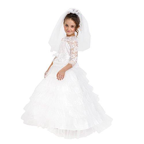 Dress Up America Mädchen Verträumte Braut Kleines Mädchen Hochzeit Brautoutfit