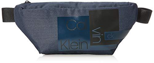 Calvin Klein Layered Waistbag - Borse a spalla Uomo, Blu (Navy),...