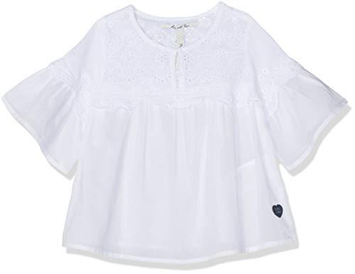 Pepe Jeans Charlotte Blusa, Blanco (White 800), 15-16 años (Talla del Fabricante: 16) para Niñas