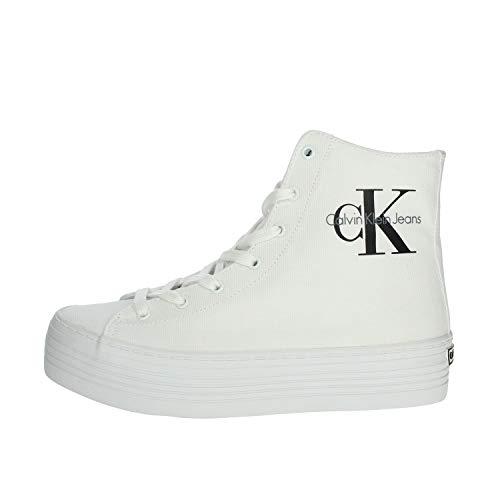 Calvin Klein Jeans RE9245 Sneakers Mujer Blanco 40