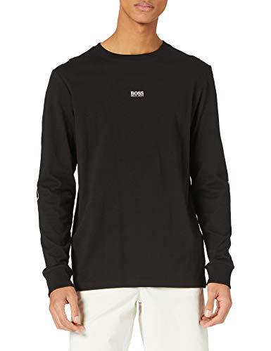 BOSS Mens TNature 1 10214866 01 T-Shirt, Black1, L