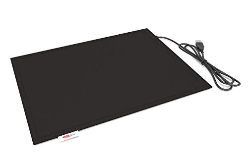 Lappo Comfort Pad USB beheizbares Sitzkissen (Schwarz)
