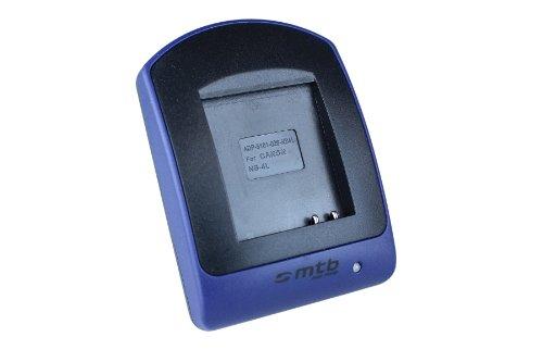 Ladeschale (Micro-USB, ohne Kabel/Adapter) für NB-4L / Canon Ixus 115 HS, 255 HS./ Powershot SD30 SD40, SD1100, TX1 .s. Liste