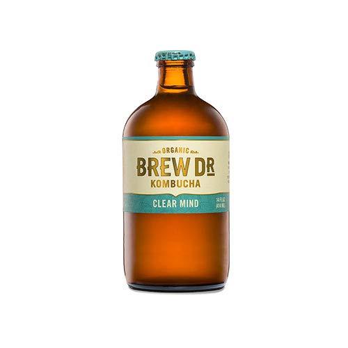 Brew Dr. Kombucha Clear Mind, 14 Oz (Pack Of 12)
