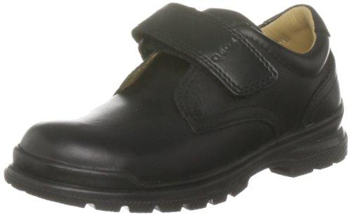 Geox J William Q - Zapatos con Velcro para Niños, color Negro, talla 36 EU (3 UK)