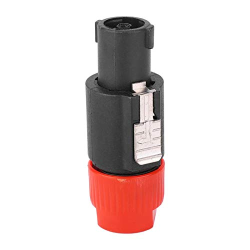 Enchufe del conector del cable de Speakon, resistencia baja del Pin del conector del cable de 6~15m m 4 para los ambientes húmedos(red)