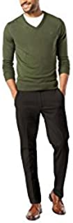Dockers Men's Slim Tapered Fit Workday Khaki Smart 360...