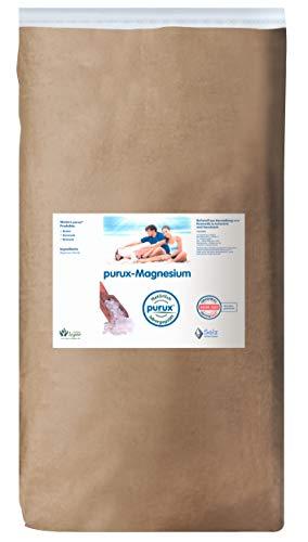 Purux Magnesium - Magnesiumchlorid 25 kg MgCl Kosmetikqualität