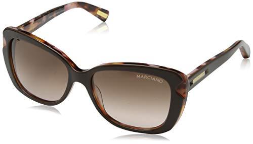 Guess Marciano Gm71154Brn-52 Gafas de Sol, Marrón, 54 para Mujer