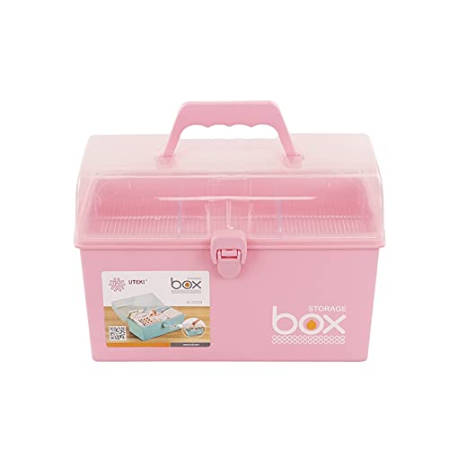 Xyskin Contenitore per medicinali in plastica, rosa, 1 confezione
