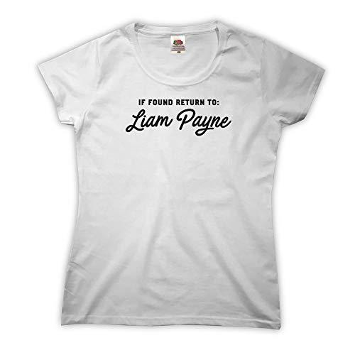 Outsider. If Found Return To Liam Payne Camiseta para Mujer - White - Large