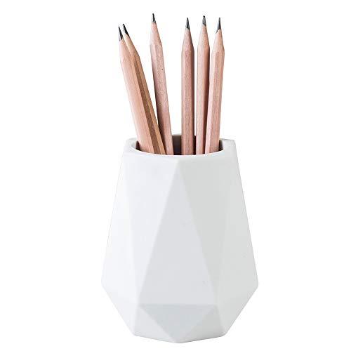 YOSCO Silicone Pen Holder Stand for Desk Cute Geometric Desk Pencil Cup Pot for Kids Desktop...