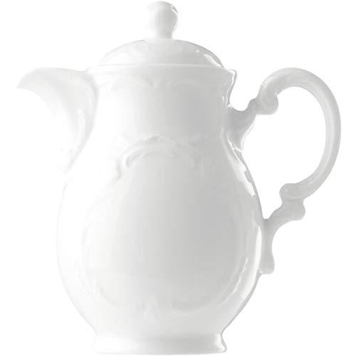 Bauscher 574130 Mozart Dekor Uni Kaffeekanne mit Deckel (6er Pack)