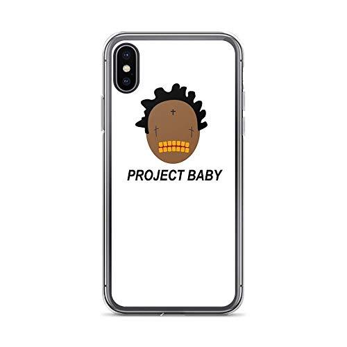 Compatible con iPhone 12/12 Pro MAX 12 Mini 11 Pro MAX SE X/XS MAX XR 8 7 6 6s Plus Funda Kodak Black Project Baby T-Shirt Pure Clear Cajas del Teléfono Cover