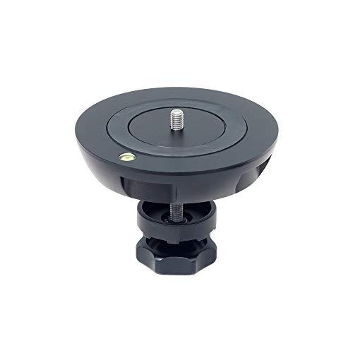 PROAIM 150mm Half Ball (Flat - Bowl) Camera Adapter for Hi-Hat, Tripods, Adapters etc. | Industry-Standard Heavy-Duty Aluminum Adapter Accepts 75/100/150mm Flat Base Fluid Heads (BA-150)