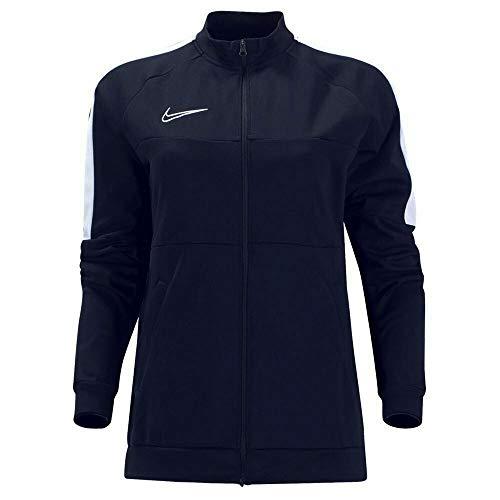 Nike Women's Academy 19 Dri-Fit Training Jacket (Black/White, Medium)