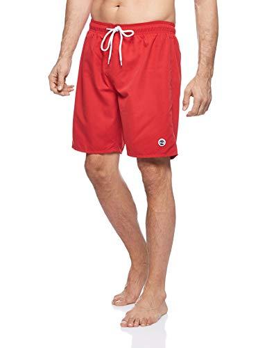 Timberland Herren Sunapee Lake Solid Swimshort Shorts, Rot (Barbados Cherry P92), XX-Large (Herstellergröße:XXL)