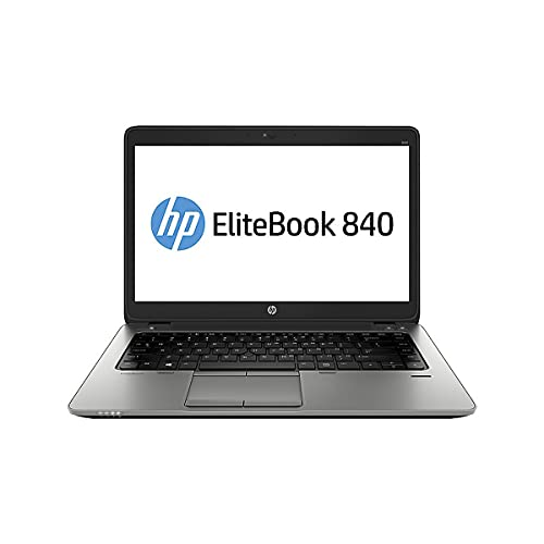 HP Elitebook 840 G2 - Premium Business-Notebook - Intel Core i5 - 2,30GHz, 500GB SSD, 16 GB RAM, 14in Zoll 1600x900 HD+ Bildschirm, Windows 10 Pro - (Generalüberholt)