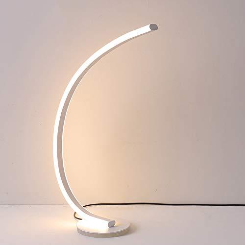 MASODHDFX Moderne wit bruine staande lamp aluminium vloerlamp voor woonkamer slaapkamer kamer-ruimtemportaal staande lamp, D
