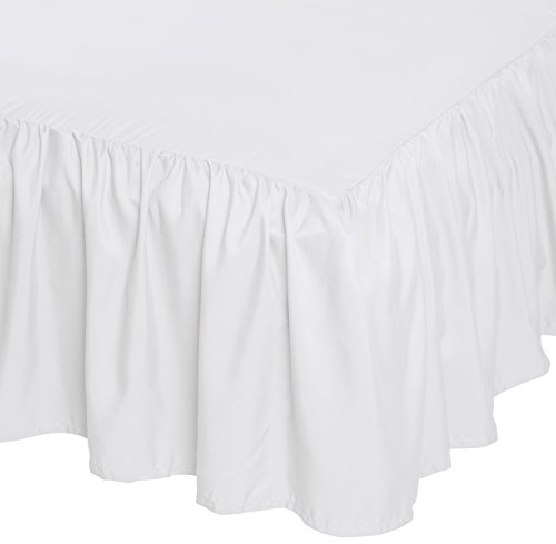 AmazonBasics Ruffled Bed Skirt, ...