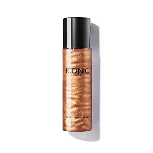 ICONIC London Spray Avant Maquillage Prep-Set Spray, Glow, 120ml