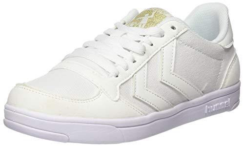 hummel Herren Stadil Light Canvas Sneaker, Weiß (White/White 9425), 36 EU