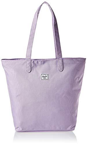 Herschel Mica Tote Bag, Lavender Crosshatch, One Size