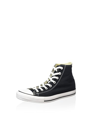 Converse Chuck Taylor All Star Hi Top, Zapatillas Unisex Adulto, Negro (Black/White), 46.5 EU