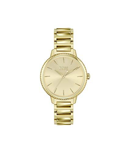 Hugo BOSS Dames Analoog Quartz Horloge met RVS Band 1502541