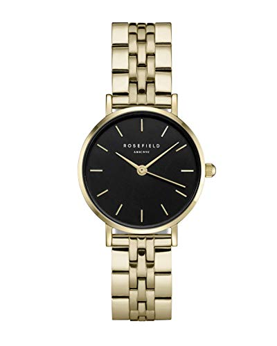 Rosefield Small Edit Womens Analog Quartz Watch with Stainless Steel Bracelet 26BSG-268