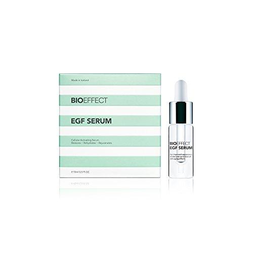 Bioeffect EGF Serum 15ml, hochwertigste Anti-Aging Seren Pflege von Gesicht Hals und Dekollete Gesichtspflege Tagespflege für jeden Hauttyp