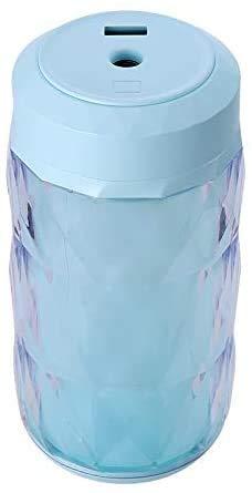 lndytq Humidificador de Niebla fría de 250 ml Taladro de Color Brillante Luz Nocturna Difusor de Aroma USB ultrasónico Aromaterapia portátil Fabricante de Niebla Nebulizador (Color: Amarillo)