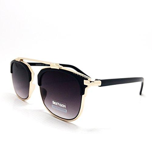 OCCHIALI DA SOLE sunglasses UOMO DONNA UNISEX NERE...