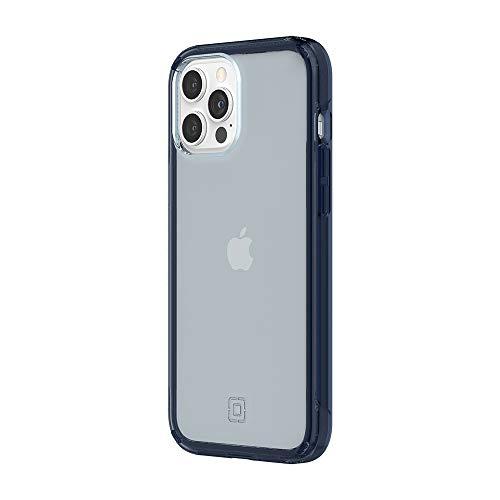 Incipio - Custodia sottile per iPhone 12 Pro Max, colore: Blu notte traslucido
