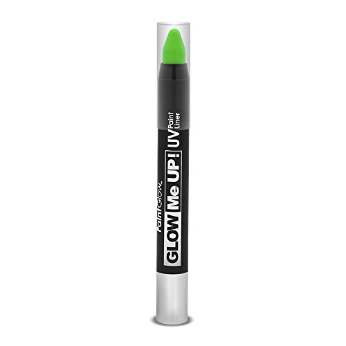 Smiffys - SM46141 - Liner UV Glow Me Up 2 - 5 g Vert - Taille Unique