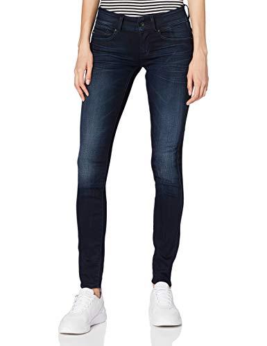 G-STAR RAW Damen Jeans Midge Cody Mid Waist Skinny, Blau (Faded Blue 5245-A889), 28W / 30L