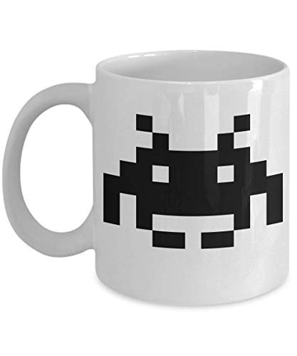 Space Invaders Mug - Ceramic Mug for Coffee and Tea 11 oz Ceramic Cup