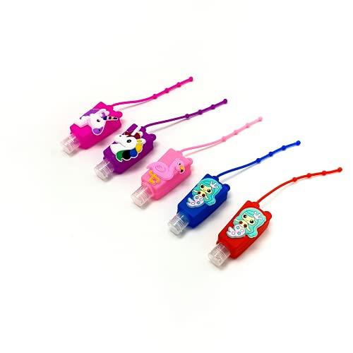 5 Botes dispensadores de Gel 30ml para niñas, diseño Infantil. Botes de...