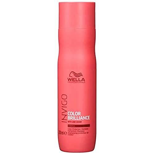 Wella Professionals Invigo Color Brilliance/Protection Shampoo Coarse - Farbschutzshampoo für dickes, kräftiges Haar, 250 ml