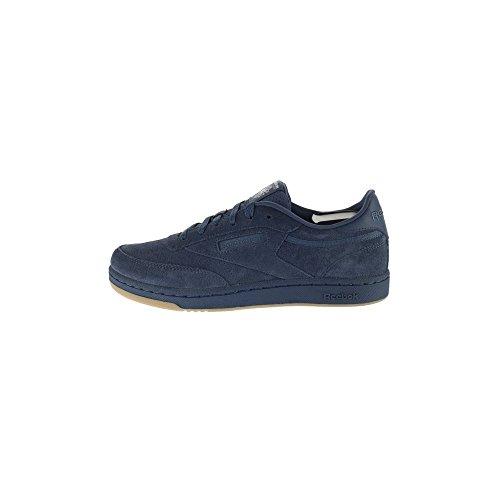 Reebok Unisex Club C Sneaker, Blau (Smoky Indigo/Chalk-Gum), 37 EU