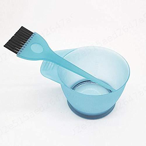 Zeen Dye Bowl et Coiffure Cheveux Bleu Brosse Brosse Peigne mélange Kit Set Outils Tint