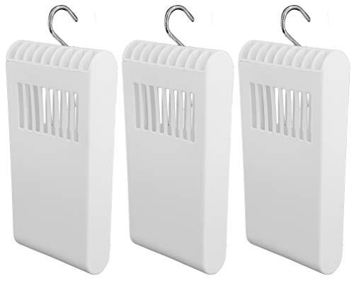 Luftbefeuchter für Heizung Set inkl. Haken - Kunststoff Wasserverdunster - weiß - Wasserverdunster verdampfer verdunster Luftreiniger neutral (3 x Stück)