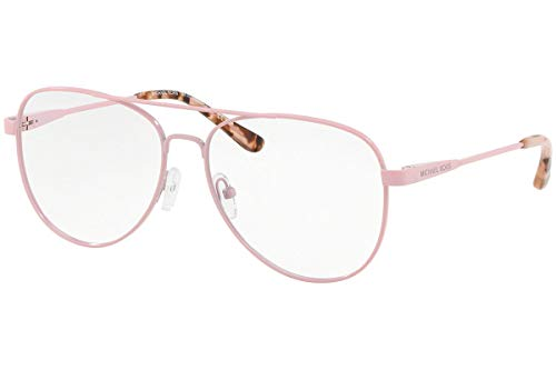 Michael Kors 0MK3019 Monturas de gafas, Bright Blush, 56 para Mujer