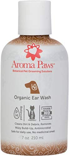 Aroma Paws Organic Dog Wash Cleansing Scrub Washes for Canine Ears Face Coat and Paws Conditioning product image