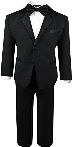 Boys Infant and Toddlers Black Tuxedo Size X-Large