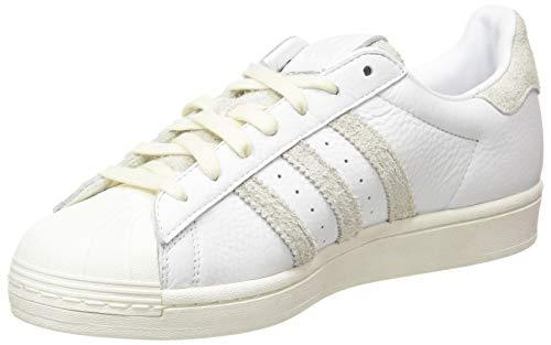 adidas Superstar, Scarpe da Ginnastica Uomo, Ftwr White/Crystal White/off White, 37 1/3 EU