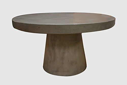 Meubletmoi Table Basse Ronde - diamètre 70 - Design Contemporain loft et Industriel