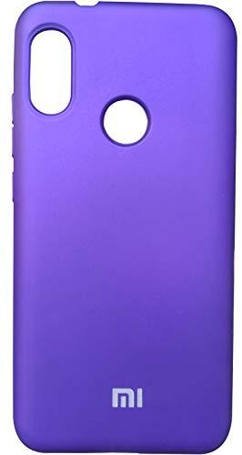 Capinha Case Silicone Aveludado super resistente Celular Xiaomi Mi A2 lite (roxo)