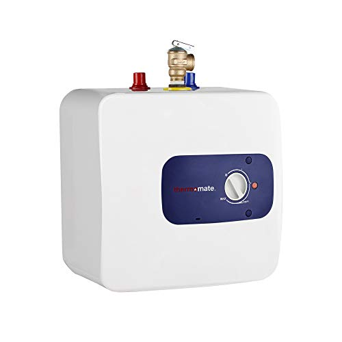 thermomate Mini Tank Electric Water Heater ES400 4 Gallons Point of Use Water Heater for Instant Hot Water Under Kitchen Sink 120V 1440W